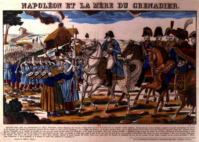 Napoléon et la mère du Grenadier