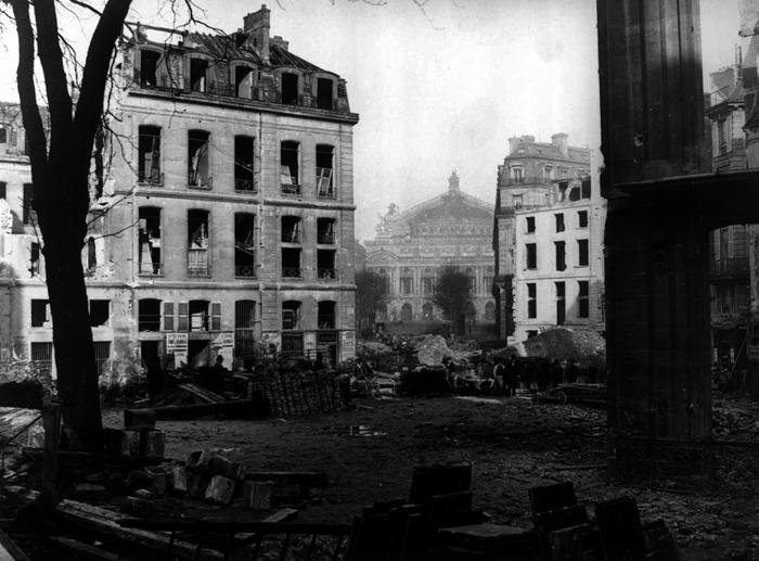 Paris, le percement de l'avenue de l'Opéra