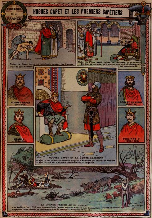 Hugues Capet et les premiers Capétiens