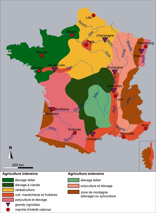 L'agriculture française